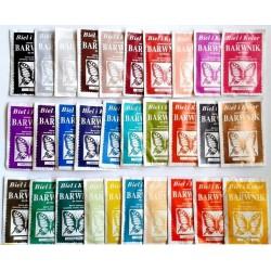 Barwniki do tkanin - 30 kolorów