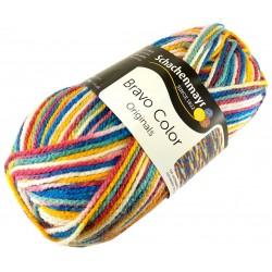 Włóczka Bravo Color - Melanż kolorów nr. 02127