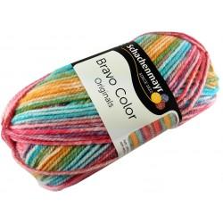 Włóczka Bravo Color - Melanż kolorów nr. 02120