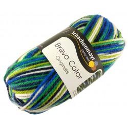 Włóczka Bravo Color - Melanż kolorów nr. 02130