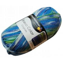 Włóczka Bravo Color - Melanż kolorów nr. 02080