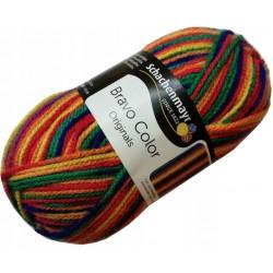 Włóczka Bravo Color - Melanż kolorów nr. 00090