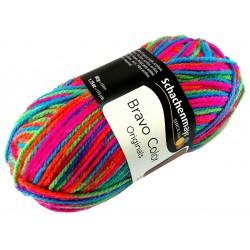Włóczka Bravo Color - Melanż kolorów nr. 00095