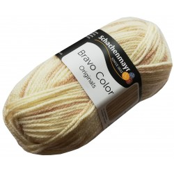 Włóczka Bravo Color - Melanż kolorów nr. 00103