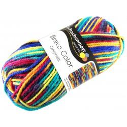 Włóczka Bravo Color - Melanż kolorów nr. 02131