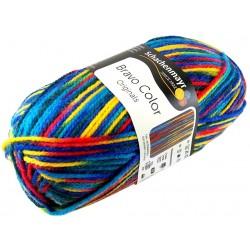Włóczka Bravo Color - Melanż kolorów nr. 00080