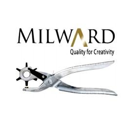 Przyrząd kaletniczy do wycinania dziurek firmy Milward z obrotową głowicą