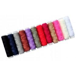 Zestaw 12 sztuk nici w kolorach