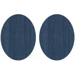Jeansowe łatki na spodnie...