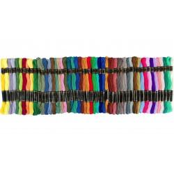 Mulina kolorowa 50 sztuk