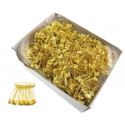 Agrafki złote 27mm a'864
